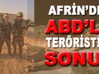 Afrin'de ABD'li teröristin sonu!