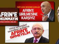 Afrin'de kontrolün sağlanmasının ardından CHP kıvır kıvır!