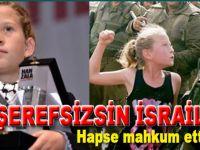 """Yahudi terör devletinden """"Cesur kız""""a hapis cezası!"""