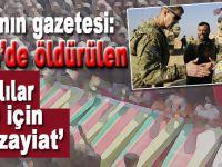 PKK'nın gazetesi; Afrin'de öldürülenler, ABD için tali zayiat!