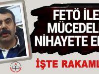 """Müsteşar açıkladı: """"FETÖ ile mücadele nihayete ermiştir... İşte sonuçlar!"""""""