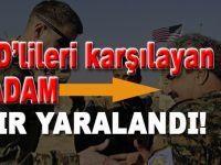 Münbiç'te ABD'lileri karşılayan o YPG'li terörist saldırıya uğradı!
