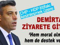 CHP'li vekil Öztürk Yılmaz terör suçundan hükümlü Selahattin Demirtaş'ı ziyaret etti!