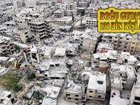 Fotoğraf ne diyor, haber ne diyor? Doğu Guta'dan 130 bin kişi ayrıldı!