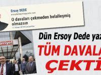 Aydın Doğan tüm gazetecilere açtığı davaları geri çekti!