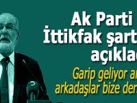 """Saadet, Ak Parti ile """"ittifak"""" şartını açıkladı; """"Garip geliyor ama, arkadaşlar bize derse ki..."""""""