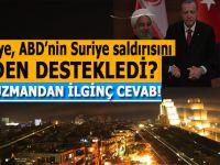 Türkiye, ABD'nin Suriye saldırısını neden destekledi?