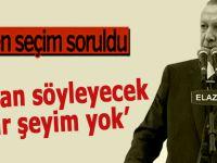 """Bahçeli'nin """"erken seçim çağrısı"""" Erdoğan'a soruldu!"""