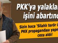 """Sizin hoca, """"PKK'ya yalaklanma"""" işini abartınca böyle oldu!"""