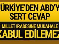 Türkiye'den ABD'ye erken seçim cevabı!