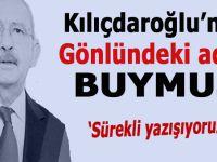 Kılıçdaroğlu'nun gönlündeki aday meğer buymuş!