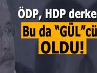 """ÖDP'den HDP'ye, ordan; """"Abdullah Gül""""cülüğe geçti!"""