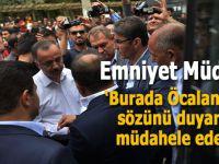 Emniyet müdüründen HDP'li vekillere; Öcalan'ın bir sözünü duyarsam müdahele ederim!