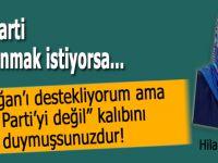 """""""Erdoğan'ı destekliyorum ama Ak Parti'yi değil"""" kalıbını duymuşsunuzdur..."""
