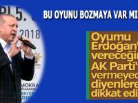 Cumhurbaşkanı Erdoğan: Birileri fitne kaynatıyor, bu oyunu bozmaya var mısınız!