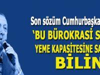 """Ardan Zentürk; """"Sayın Erdoğan, bu bürokrasi sizi yer!"""""""