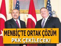 Menbiç'te ortak çözüm; Güvenliği Türkiye ve ABD ortak sağlayacak!