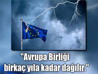 Avrupa tedirgin: Kendi sonumuzu hazırlıyoruz