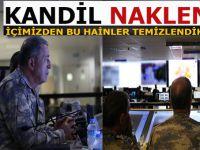 Genelkurmay Başkanı; Kandil Operasyonunu harekat merkezinden canlı takip etti!
