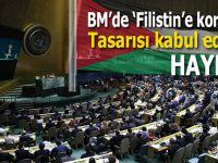 BM'de 'Filistin'e koruma' tasarısı kabul edildi!