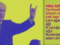 """Bahçeli: """"13'üncü cumhurbaşkanı ilk turda seçilecek, o isim de Erdoğan olacaktır!"""""""