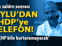 PKK'nın vahşeti sonrası Soylu'dan HDP'ye telefon!
