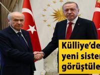 Cumhurbaşkanı Erdoğan MHP Lideri Bahçeli görüştü!