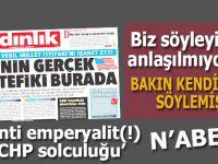 """CHP-ABD ittifakı; CHP Milletvekili; """"ABD'nin gerçek müttefiki Erdoğan karşıtı yüzde elli!"""""""