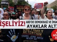ABD'de diktatörlük; 600 kadın gözaltına alındı!