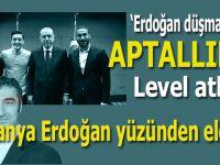"""Erdoğan düşmanlığı ve aptallıkta rekor denemesi; """"Almanya, Erdoğan yüzünden elendi"""""""