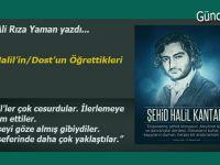 Av. Ali Rıza Yaman yazdı: Bir Halil'in/Dost'un Öğrettikleri...
