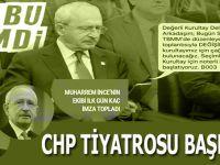 CHP tiyatrosu başladı; Hadi hayırlı traşlar!