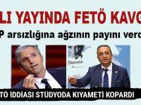 Canlı yayında kavga; CHP arsızlığına böyle cevap verdi!