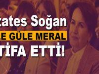 Meral Akşener istifa etti!