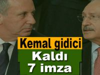 CHP'de Kemal gidici; Kaldı 7 imza!
