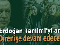 Cumhurbaşkanı Erdoğan Filistinli Ahed Tamimi'yle görüştü!