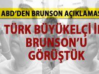 ABD'den yeni Brunson açıklaması!