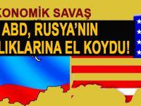 Rusya'nın ABD'deki varlıkları bloke edildi