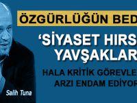 """Salih Tuna: """"Siyaset hırsızı yavşaklar"""" hâlâ kritik görevlerde arzı endam ediyor!"""