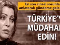 Elif Şafak: Türkiye'ye müdahale edin!