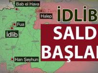 Reuters duyurdu; Esed İdlib'e saldırı başlattı!