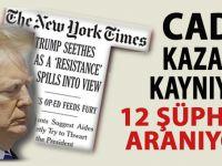 Beyaz Saray'da cadı kazanı kaynıyor; İsimsiz makalede 12 şüpheli!