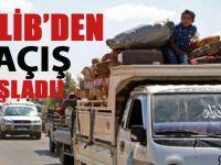İdlib'den kaçışlar başladı!