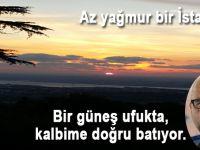 Cem Sancar; Az yağmur bir İstanbul...
