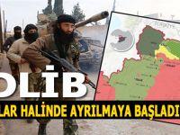 Dünyanın gözü İdlib'de; Boşaltmaya başladılar!