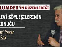 """Mazlumder'in """"Cezaevi Söyleşileri""""nin bu haftaki konuğu; Gazeteci-Yazar Şükrü Sak."""