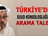 Türkiye Suudi Arabistan konsolosluğundan arama izni talep etti!