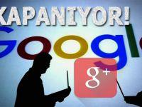Google, Facebook'a rakip olarak kurduğu Google+'ı kapatıyor