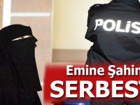 Atatürk'e hakaret ettiği gerekçesiyle tutuklanan Emine Şahin serbest bırakıldı!