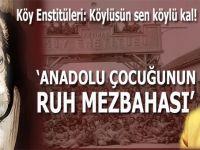 Ufuk Coşkun: Köy Enstitüleri; Köylüsün sen köylü kal!